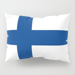 Flag of Finland - High Quality Image Pillow Sham