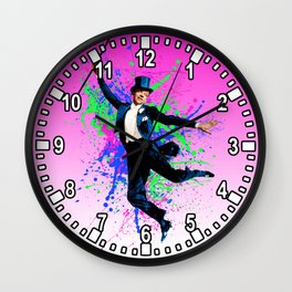 Astaire Fred, still dancing. Wall Clock