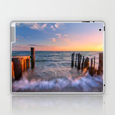 Rushing Waves at Sunset Laptop & iPad Skin