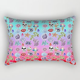 Lovely Creatures Rectangular Pillow