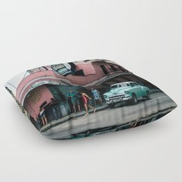 La Floridita Floor Pillow