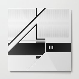 RIM ISER Metal Print