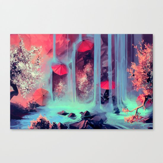 Protect me from what I want Canvas Print