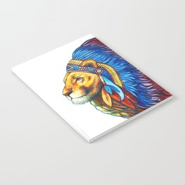 The Lion Chief Notebook