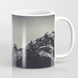 Misty Dark Mountains Coffee Mug