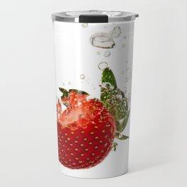 Strawberry splash Travel Mug