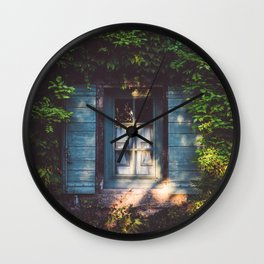 September - Landscape and Nature Photography Wall Clock