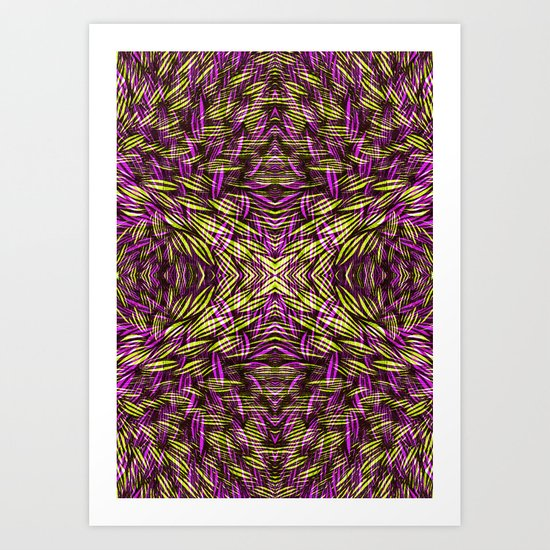 Color blooms Art Print