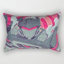 Oscillating static Rectangular Pillow