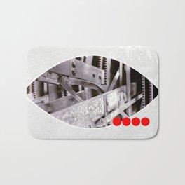 gears inside Bath Mat