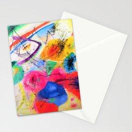 12,000pixel-500dpi - Wassily Kandinsky - Black Lines - Digital Remastered Edition Stationery Cards
