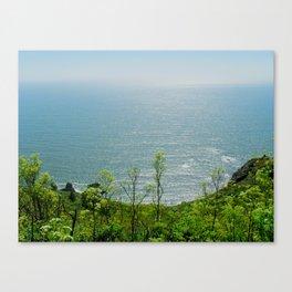 Shining Sea Canvas Print