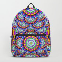 Mandala Psychedelic Visions G324 Backpack