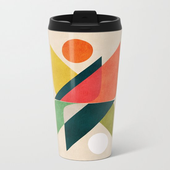 Reflection (of time and space) Metal Travel Mug
