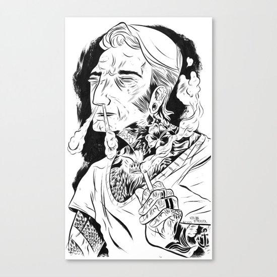 Psychobilly Canvas Print