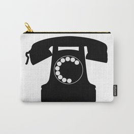 Traditional Telephone Icon Carry-All Pouch