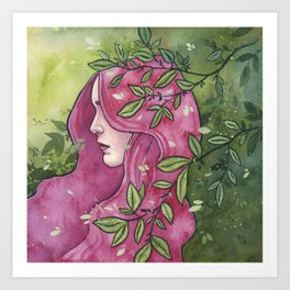 Ianthe Art Print