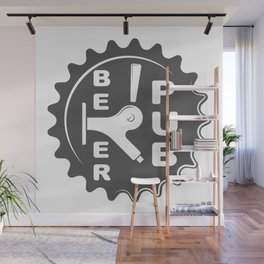 Black Beer Pub Brewery Handcrafted style Fashion Modern Design Print! Wall Mural