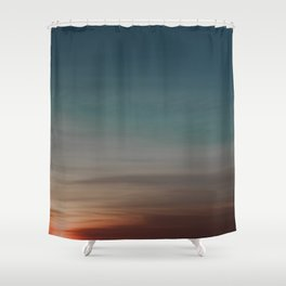 Ombre Skies Shower Curtain