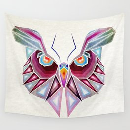 owl or butterfly? Wall Tapestry