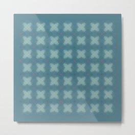 endless knots blue Metal Print
