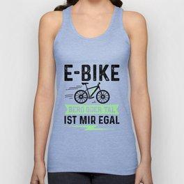 E-Bike Berg Oder Tal Ist Mir Egal Unisex Tank Top