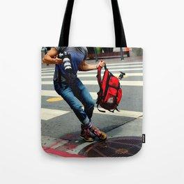 A Travelin' Man Tote Bag