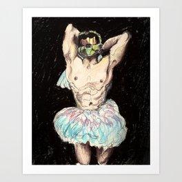 Master Chief Ballerina.  Art Print
