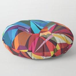 Colorful Mosaik Floor Pillow