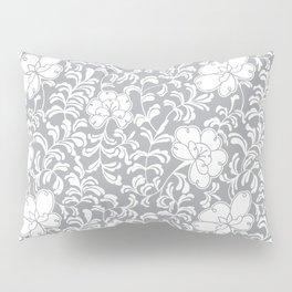 Japanese garden in grey Pillow Sham