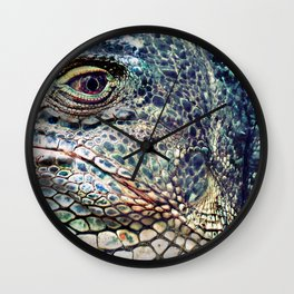 Fabulous Lizard Wall Clock