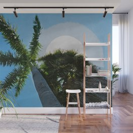 Queen Palm Florida Keys Wall Mural