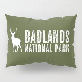 Deer: Badlands National Park, South Dakota Pillow Sham