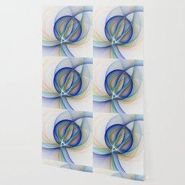 Colorful Design, Modern Fractal Art Wallpaper