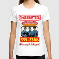 ghostbusters T-shirts featuring Ghostbusters Advertisement by Silvio Ledbetter