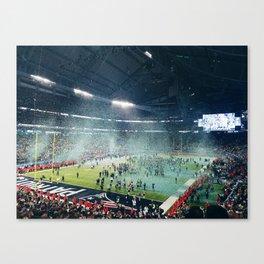 Super Bowl LII Canvas Print