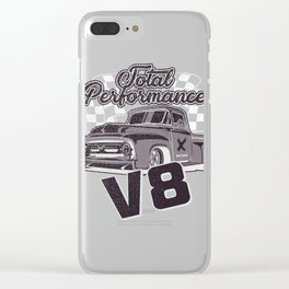 Pick up total Performance V8 Clear iPhone Case