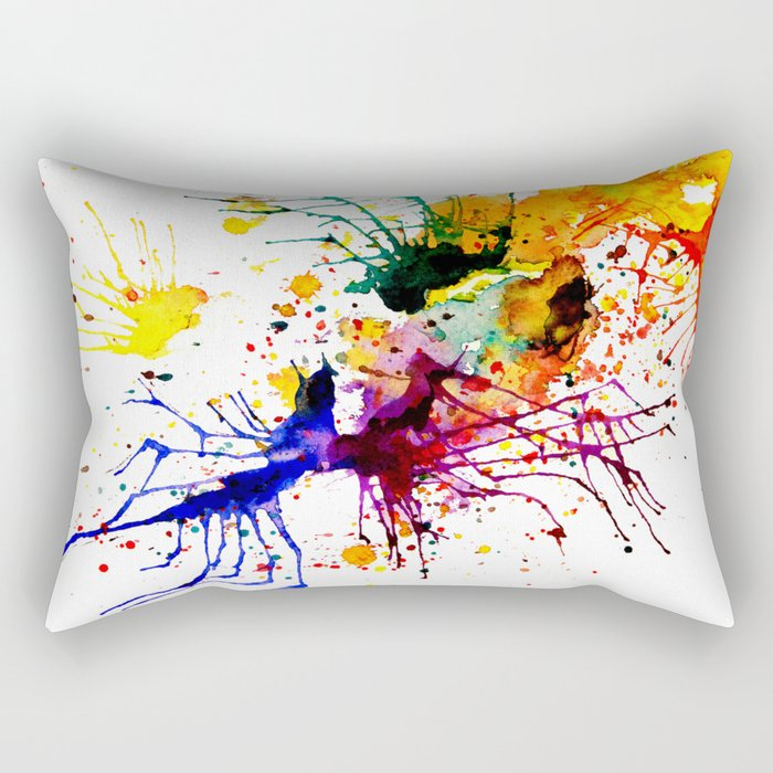 bright fantasy Rectangular Pillow