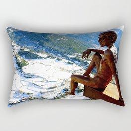 Mirador of the Roc del Quer, Andorra - Travel Photography Rectangular Pillow
