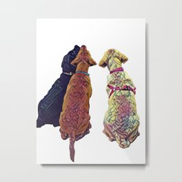 Three Amigos I Metal Print