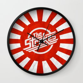 The Strokes Logo Welcome To Japan Wall Clock