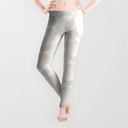 Minimalist Geometric I, Scandinavian Design Leggings