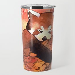 Cute Red Panda Travel Mug