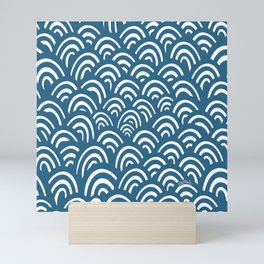 Salty wave Mini Art Print