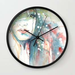 Girl ASD 02 Wall Clock