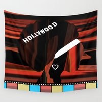 hollywood Wall Tapestries featuring Hollywood by AndISky