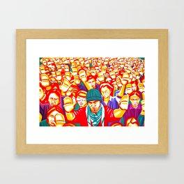 The hope wanted Framed Art Print