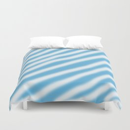 blue & white Duvet Cover