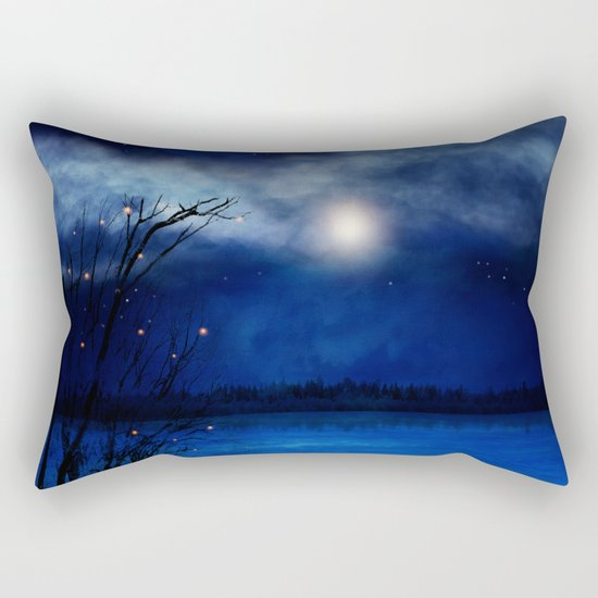Wishing Stars Rectangular Pillow