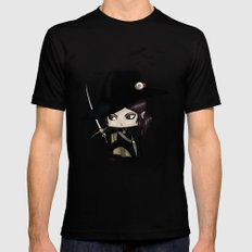 Chibi D LARGE Mens Fitted Tee Black